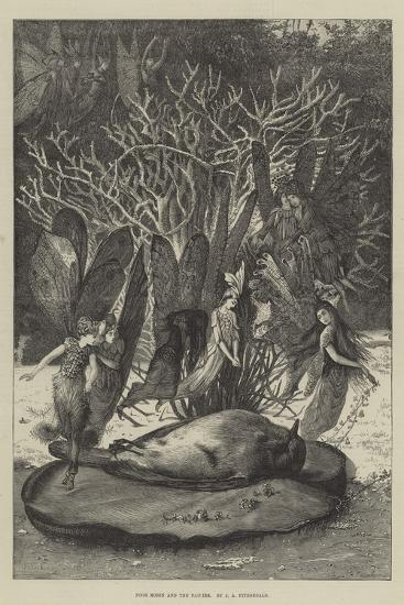 Poor Robin and the Fairies-John Anster Fitzgerald-Giclee Print