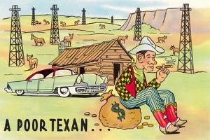 Poor Texan Cartoon