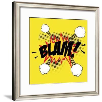 Pop Art Blam-DAVIDS47-Framed Premium Giclee Print