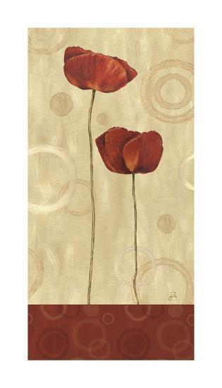 Pop Art Poppies I-Daphne Brissonnet-Giclee Print