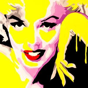 Temptress Marilyn Monroe by Pop Art Queen