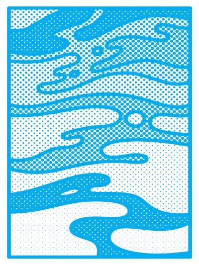 Pop Camo-Joe Van Wetering-Art Print