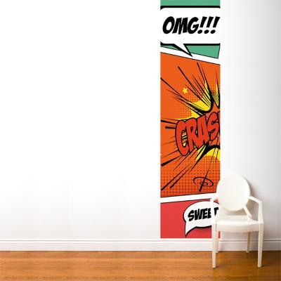 Pop Comic--Wall Mural