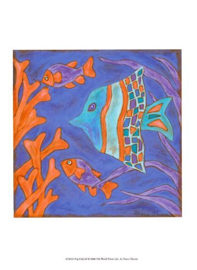 Pop Fish III-Nancy Slocum-Art Print