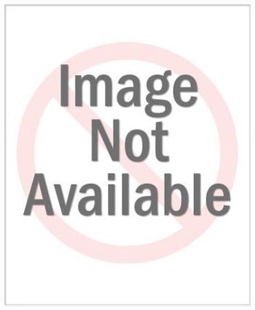 Blonde Man Looking Through Binoculars by Pop Ink - CSA Images