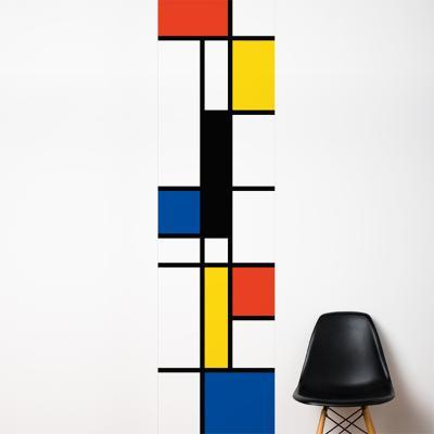 Pop Mondrian  Wall Decal--Wall Decal