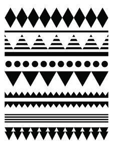 Geometric Art 12 by Pop Monica