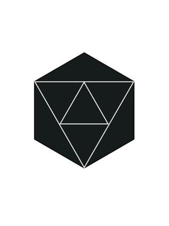 Geometric Art 21 by Pop Monica