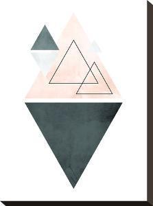 Geometric Art 37 by Pop Monica