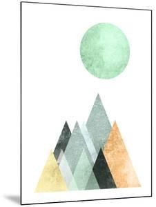Geometric Art 41 by Pop Monica