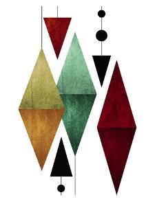 Geometric Art 50 by Pop Monica