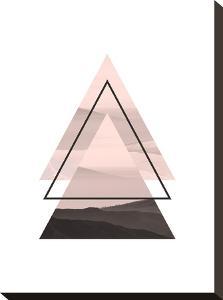 Geometric Art 52 by Pop Monica