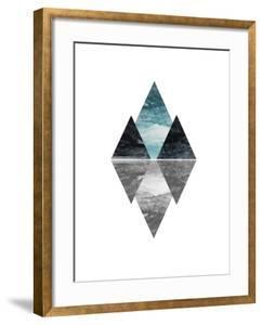 Geometric Art 7 by Pop Monica