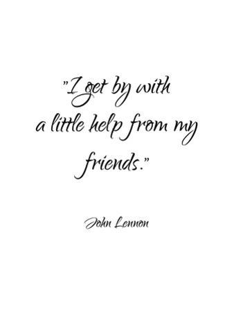 John Lennon-Friends by Pop Monica
