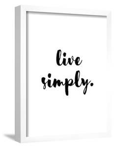 Live Simply by Pop Monica