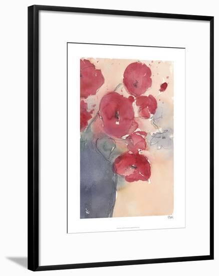 Pop of Red II-Samuel Dixon-Limited Edition Framed Print