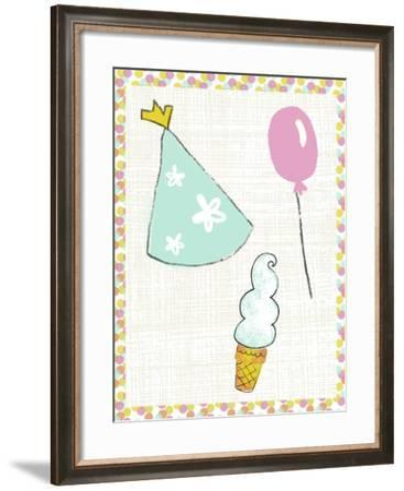 Pop Party IV-Chariklia Zarris-Framed Art Print
