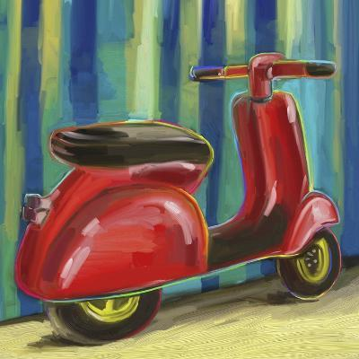 Pop Scooter-Howie Green-Giclee Print