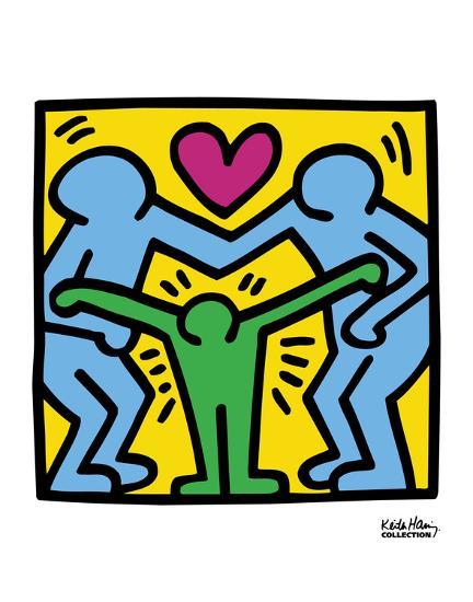Pop Shop-Keith Haring-Art Print