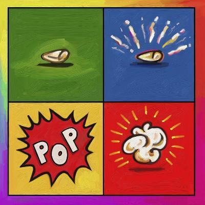 Popcorn Pop-Howie Green-Giclee Print
