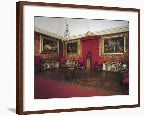 Pope Benedict XIV's Salon, Tozzoni Mansion, Imola, Emilia-Romagna, Italy--Framed Giclee Print