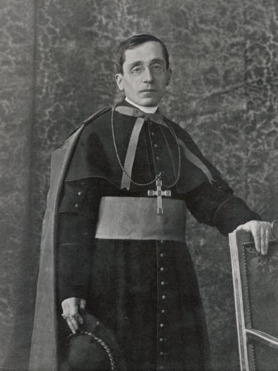 Pope Benedictus XV (Giacomo Della Chiesa) at the Time of His Election--Photographic Print