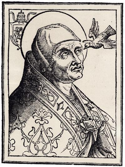Pope Gregory I the Great--Giclee Print