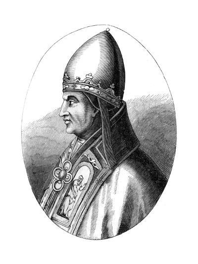 Pope Gregory IX (C1143-124), 1849--Giclee Print