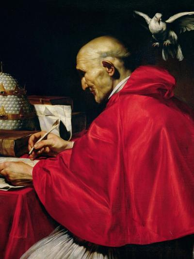 Pope Gregory the Great-Carlo Saraceni-Giclee Print