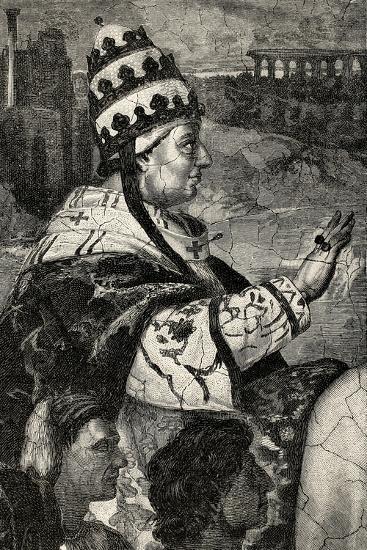 Pope Innocent Iii--Giclee Print