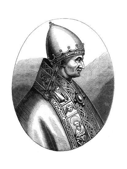 Pope Innocent IV (1180-125), 1849--Giclee Print