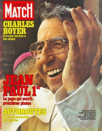 Pope John Paul I Greets the Crowd in St. Peter's Square on 27 August