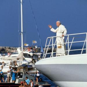 Pope John Paul II During Travel in USA in 1979