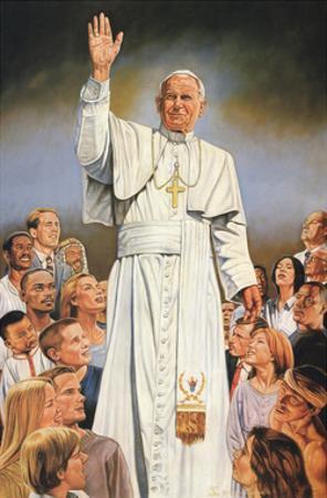 Pope John Paul II White Robes