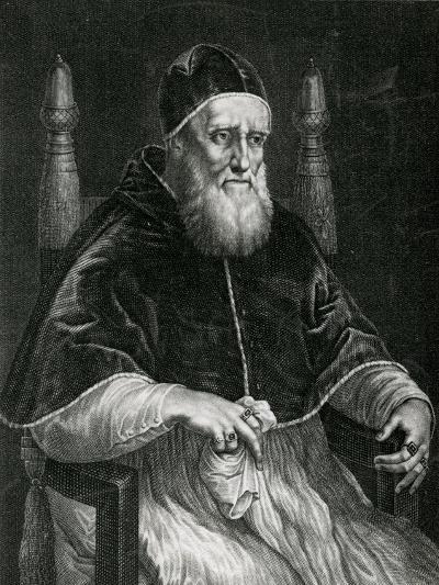 Pope Julius II (1443-1513)-Raphael-Giclee Print