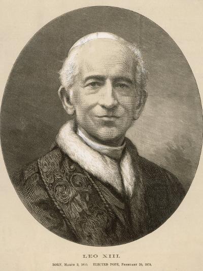 Pope Leo XIII (Gioacchino Vincenzo Raffaelle Luigi Pecci) at the Time of His Death--Photographic Print