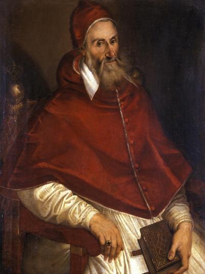 Pope Pius Iv, 1586-1600-Bartolomeo Passarotti-Giclee Print