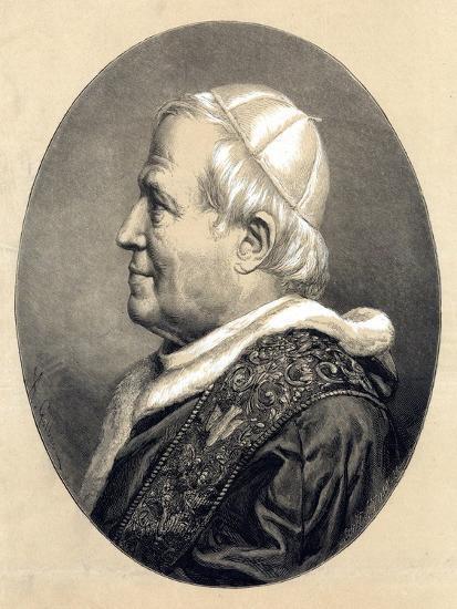 Pope Pius IX, 1846--Giclee Print