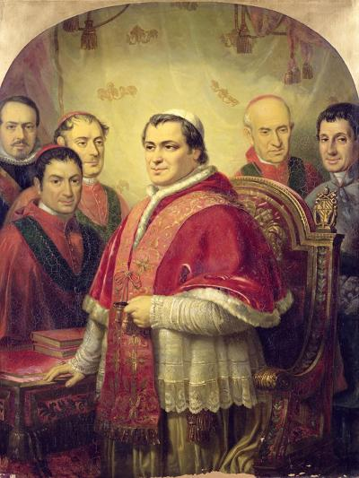 Pope Pius IX 1847-Jose Galofre Y Coma-Giclee Print