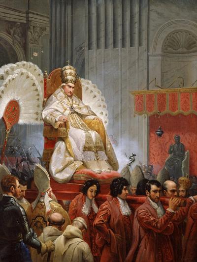 Pope Pius VIII-Horace Vernet-Giclee Print
