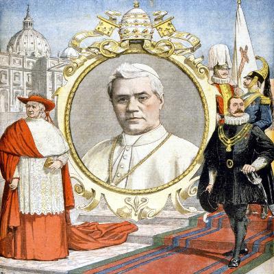 Pope Pius X, 1903--Giclee Print