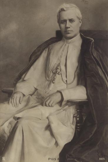 Pope Pius X--Photographic Print