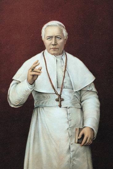 Pope Pius X--Giclee Print