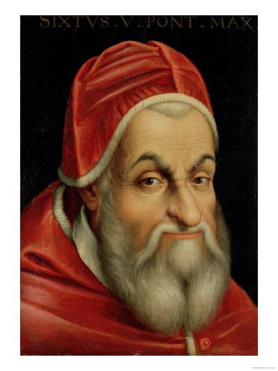 Pope Sixtus V (1520-90)--Giclee Print