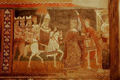 Pope Sylester Returns: Scene from the Life of Emperor Constantine and St Sylvester--Giclee Print
