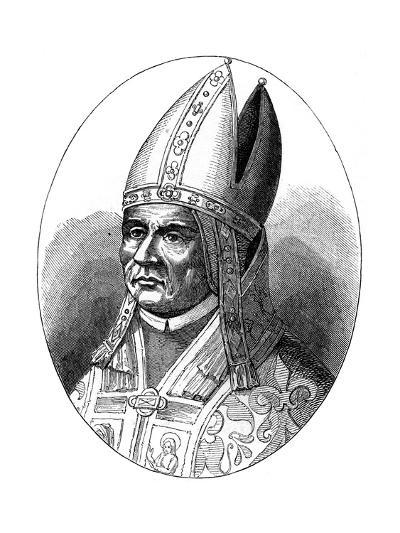 Pope Sylvester I, 1849--Giclee Print