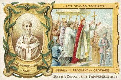 Pope Urban II Preaching the First Crusade, 1095--Giclee Print
