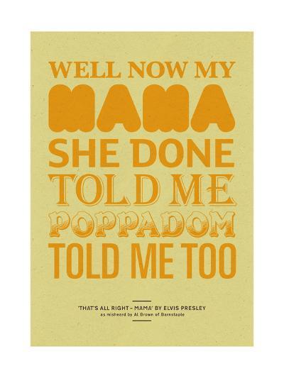 Poppadom Told Me-Peter Reynolds-Giclee Print