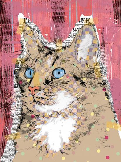 Poppet Cat IV-Ken Hurd-Art Print