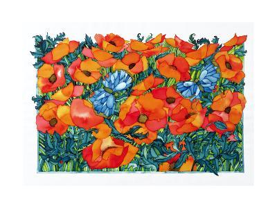 Poppies, 1998-Maylee Christie-Giclee Print